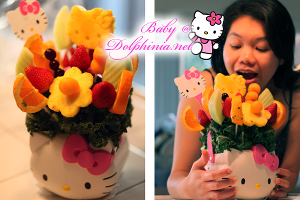 Hello Kitty Fruits