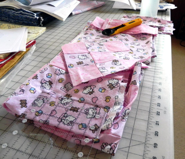 Hello Kitty Quilt by Carla