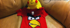 Angry Birds and Pikachu
