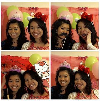Baby Shower Hello Kitty Photobooth