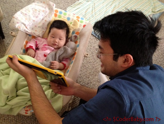 Alex Reading to Katie