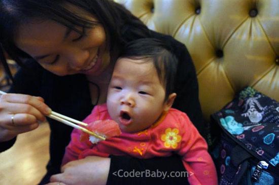 Baby Likes Sushi