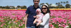 First Family Vacation at the Flower Fields!