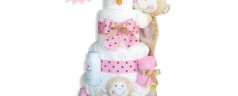 Diaper Cakewalk: A Perfect Baby Shower Gift!