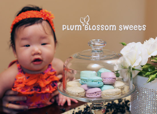 Katie and Plum Blossom Sweets