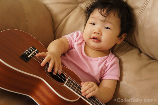 CoderBaby and Ukulele