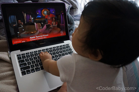 CoderBaby getting ready for iPad Mini Announcement!