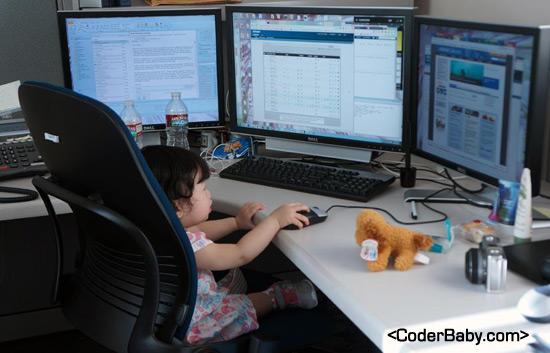 CoderBaby Working