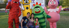 Meeting Yo Gabba Gabba!