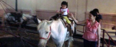 First Pony Ride!