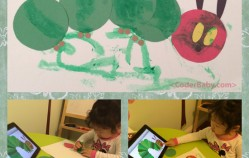 The Hungry Caterpillar Artwork