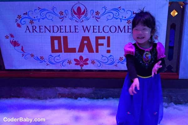 Frozen Fun - Laughing at Olaf's Snow Fest