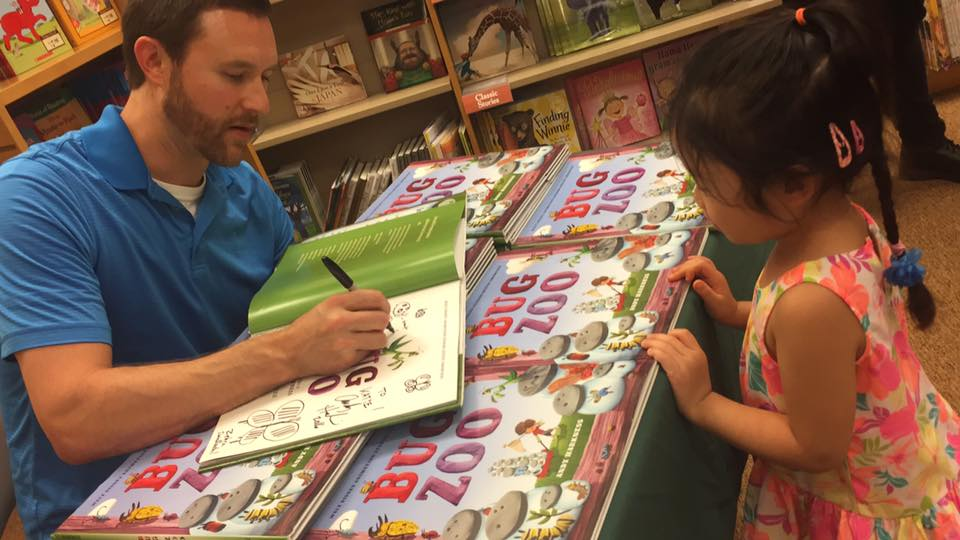 Andy Harkness Book Signing at B&N